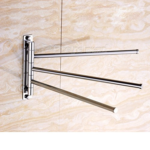 removable Towel Bar/Copper rod/Towel hanging for bathroom/Wall hanging/Swivel Towel rack-A hot sale