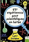 52 exp�riences pour scientifiques en...