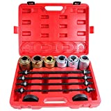 SCITOO Fit Cars LCV and HGV Engines Universal Press and Pull Sleeve Kit Removal Installation Bushes Bearings Tool Kit