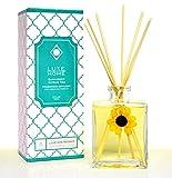 NEW! LUXE Home Sunkissed Citrus Tea Essential Oil Reed Diffuser | Fresh, Citrus Tea & Honey Scent