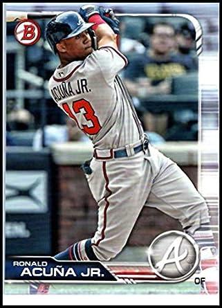 Amazoncom 2019 Bowman Major League Baseball Card 78 Ronald Acuna