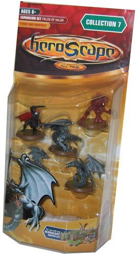Heroscape Mini Figure Game Pack - Wave 7 Fields of Valor FIENDS & VAMPIRES
