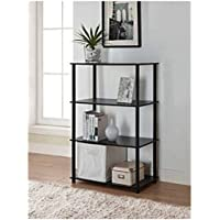 No-Tool Assembly 6-Cube Storage Unit (Black)