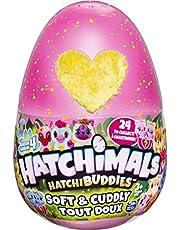 Hatchimals Plush 605664 CollEGGtibles knuffelpluche in roze ei