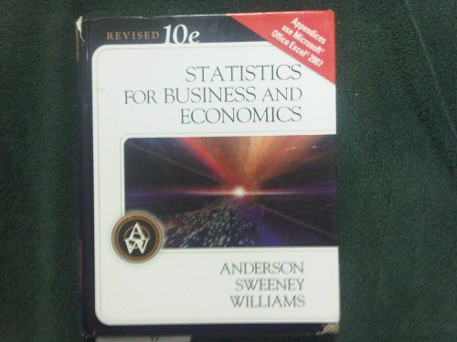 Statistics for Business & Economics, Revised (Book Only)