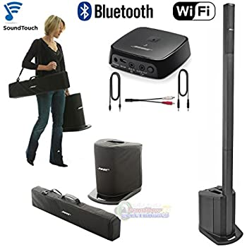 bose l1 compact w carry case soundtouch bluetooth wifi adapter bundle musical. Black Bedroom Furniture Sets. Home Design Ideas