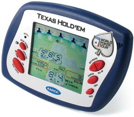 5Star-TD ラディカ ノーリミット テキサス ホールデム 電子ハンドヘルドゲーム (2004 World Poker Tour Edition)
