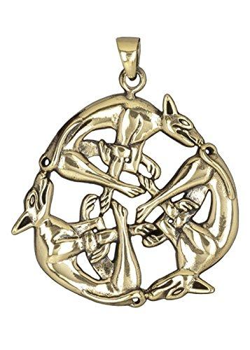 Neu Uhren & Schmuck Odin Amulett Anhänger Bronze Gothic Schmuck