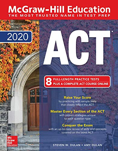 McGraw-Hill Education ACT 2020 edition from McGraw-Hill Education