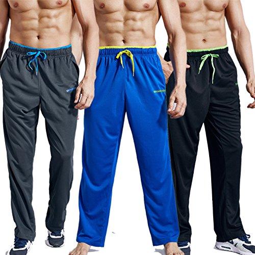 Xiami Leyuan USA Size Mens 2018 Gym Comfortable Workout Running Active Long Pants