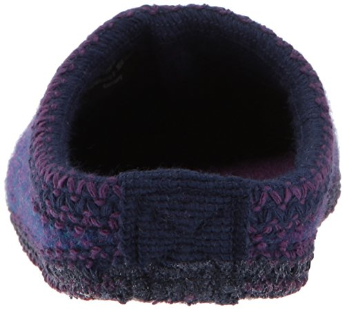 Women's Haflinger Slipper Speckle AS Purple 0qTqdw