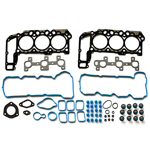 SCITOO Replacement for Cylinder Head Gasket Set fit Dodge Jeep Mitsubishi Ram Dodge 3.7L 2005-2012 Automotive Engine Head Gaskets Sets