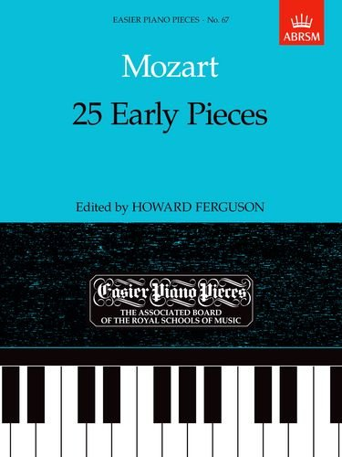 25 Early Pieces (Easier Piano Pieces)