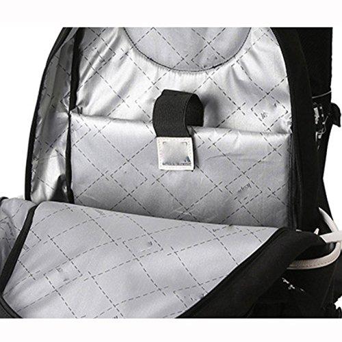 Bag Oxford theft Dhfud Student Black Backpack Fashion Men's Anti Multifunctional 8q7g6x7