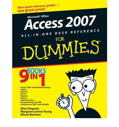 Ebook Microsoft Office Access 2007 All In One Desk