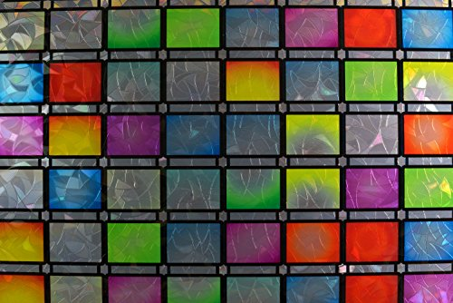 Gila 50165299 Privacy Control Stained Glass Atlantis Stat...