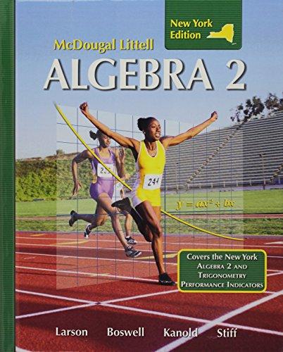 Holt McDougal Larson Algebra 2: Student Edition 2008 -  Larson, Ron, Hardcover