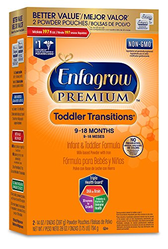 Price comparison product image Enfagrow PREMIUM Toddler Transitions Formula Powder, 28 Ounce Box