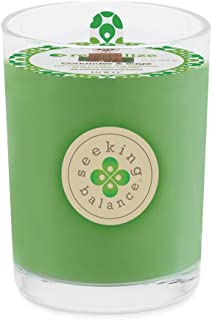 product image for Root Candles Seeking Balance Beeswax Blend Candle, 8-Ounce, Revitalize: Coriander Sage
