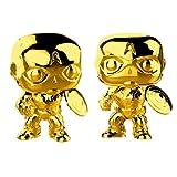 Funko Figure Pop Marvel Studios 10 Captain America, Gold Chrome