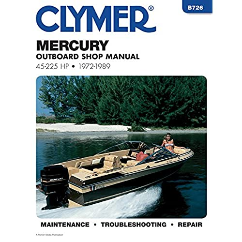 mercury outboards motor amazon Johnson Motors mercury outboard shop manual 45 225 hp 1972 1989 b726