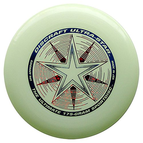 Discraft 175g Ultimate Disc Bundle (3 Discs) Black, Yellow & Glow by Discraft (Image #3)