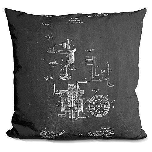 Carburetor Insert (LiLiPi Carburetor Decorative Accent Throw Pillow)