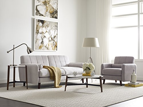 Serta Savanna Collection Loveseat - Dimensions: 61L x 33W x 32H in. Hardwood frame and microfiber upholstery Choose from available colors - sofas-couches, living-room-furniture, living-room - 51Pb5M74XjL -