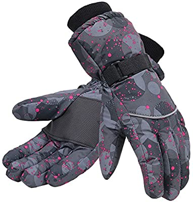 Simplicity Women's 3M Thinsulate Waterproof Outdoors Ski Gloves