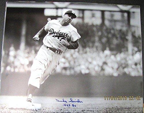 Signed Duke Snider Photograph - HOF 80 16x20 - Autographed MLB Photos ()