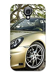 Galaxy S4 Hard Back With Bumper Silicone Gel Tpu Case Cover Porsche