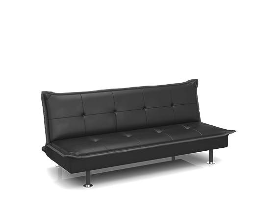 Forzza Barbara Sofa Cum Bed (Black)