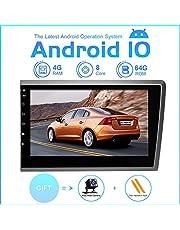 ZLTOOPAI Android autoradio stereo, voor Volvo S60 V70 XC70 2000-2004 hoofdunit Android 9,0 Octa Core 4G RAM 64G ROM 8 inch capacitief HD-scherm auto stereo GPS-radio met vrije achteruitrijcamera