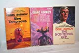 Isaac Asimov 3-book Set of Short Story Collections: Nine Tomorrows, The Rest Of The Robots & The Bicentennial Man.