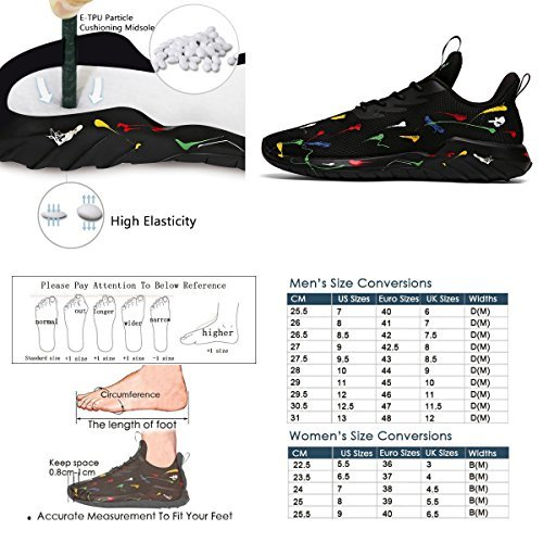 Running Shoes Men Women Wide Sneakers for Boys Girls Youth, Lightweight Shoes B075YWSXG4 Men 11 D(M)US=EUR45=29CM|Spray Paint