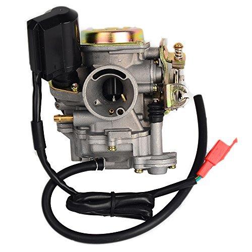 hifrom (TM) Carb Carburador para Scooter Chino de 50cc GY6139QMB ciclomotor 49cc 60cc