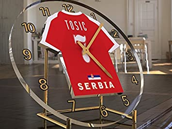 UEFA EUROPEAN FOOTBALL FIFA - internacional - internacional de equipos de Fútbol camiseta de fútbol Relojes