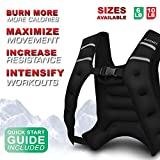 Adurance Weighted Vest Workout Equipment, 6lbs Body Weight Vest for Men, Women, Kids, 6 Pounds/2.72 KG