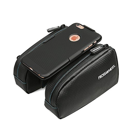 Waterproof Bicycle Bag MTB Bike Bag Front Top Tube Bag Bycicle Accessories with Phone Case