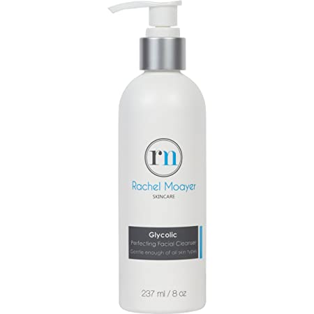 RM Glycolic Perfecting Facial Cleanser, clears and prevents acne, exfoliates the skin for all skin types