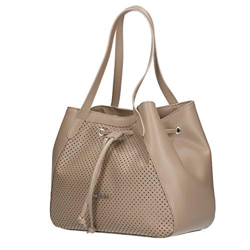 P843167D Shoulder size Giardini One grey Bag Women's Nero Grey SFnwtEqxFH