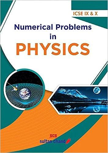 Amazon in: Buy Numerical Problems in Physics - ICSE IX & X