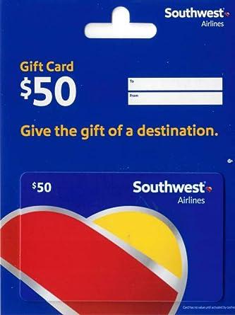 Amazon.com: Tarjeta de regalo de Southwest Airlines ...