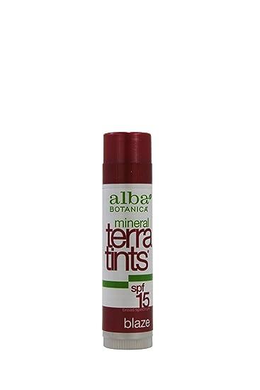 Alba Botanica Mineral Terratints Spf 15 Lip Balm, Blaze - 0.15 Oz, 3 Pack Signature Club A 24K Bronze Wrinkle Filling Capsules - .7 oz