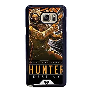 Wunatin Hard Case ,Samsung Galaxy Note 5 Cell Phone Case Black Destiny [with Free Tempered Glass Screen Protector] BA-9894432