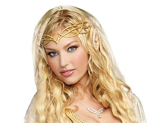 Dreamgirl Women's Elf Princess Kit, Gold, One (Elrond Crown)