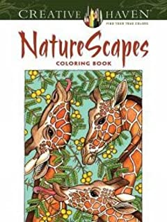 Creative Haven NatureScapes Coloring Book Adult