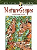 img - for Creative Haven NatureScapes Coloring Book (Adult Coloring) book / textbook / text book