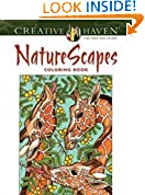 #7: Creative Haven NatureScapes Coloring Book (Adult Coloring)