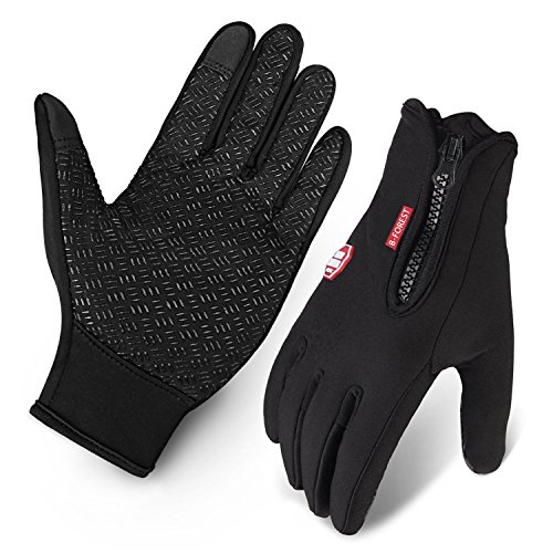 Cycling Gloves, BCMrun Waterproof Touchscreen i...